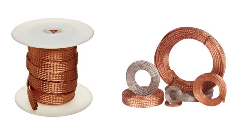 Copper Braided Strip (Tinned/Untinned)